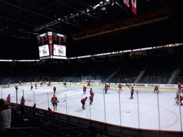 FirstOntario Centre, section: 105, row: 11, seat: 4