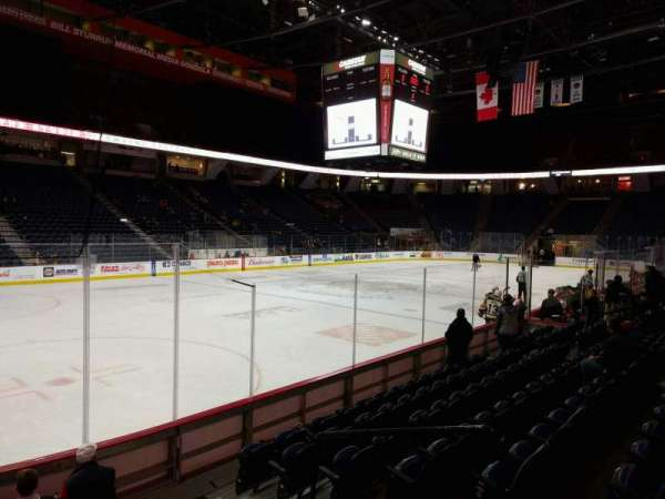 FirstOntario Centre, section: 111, row: 8, seat: 4