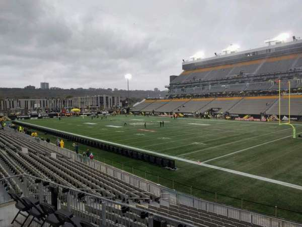 Tim Hortons Field, section: 111, row: 15, seat: 14