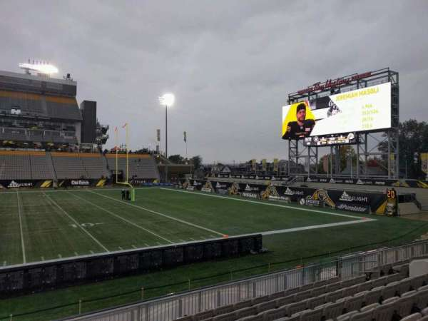 Tim Hortons Field, section: 113, row: 9, seat: 15
