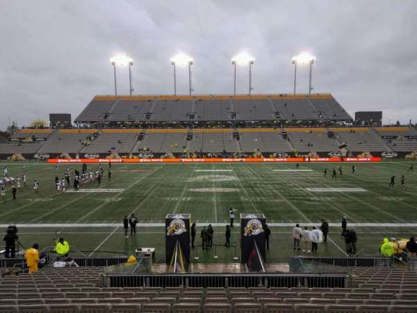Tim Hortons Field, section: 105, row: 19, seat: 16