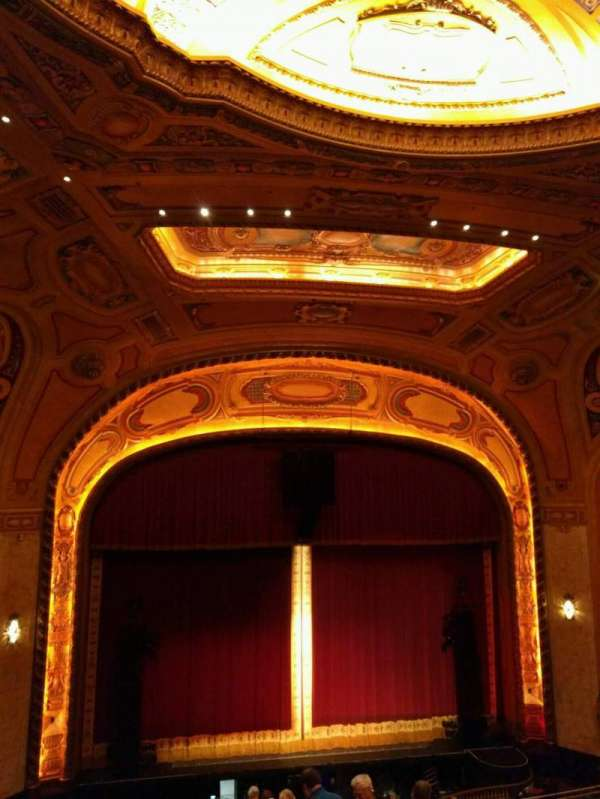 Shea's Buffalo, section: Balcony 5, row: j, seat: 5