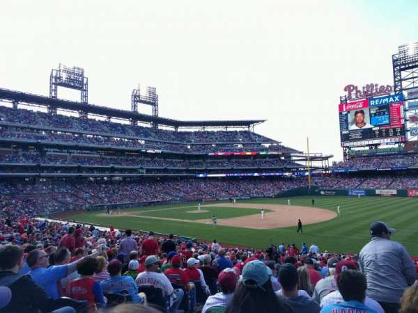Citizens Bank Park, section: 112, row: 34, seat: 17