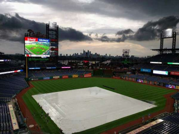 Citizens Bank Park, section: 310, row: 5, seat: 21