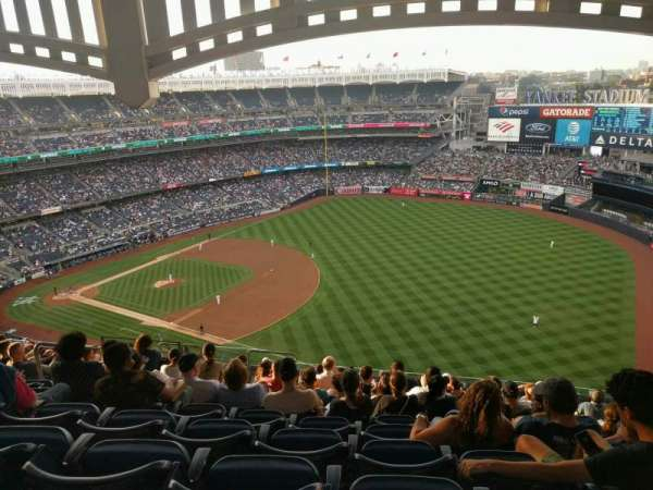 Yankee Stadium, section: 411, row: 14, seat: 14
