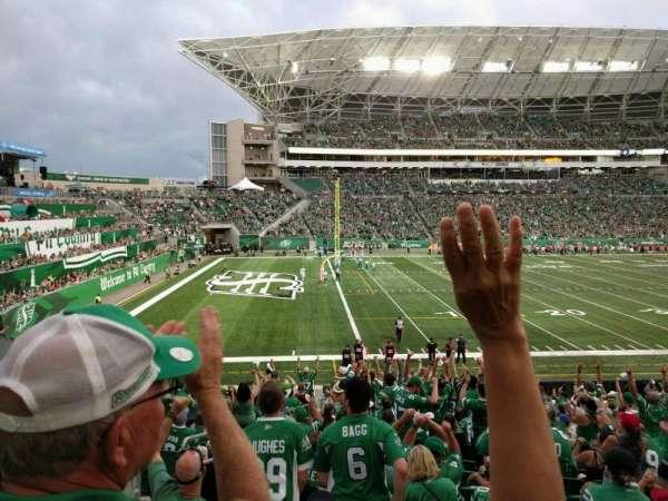 Mosaic Stadium, section: 142, row: 24, seat: 23
