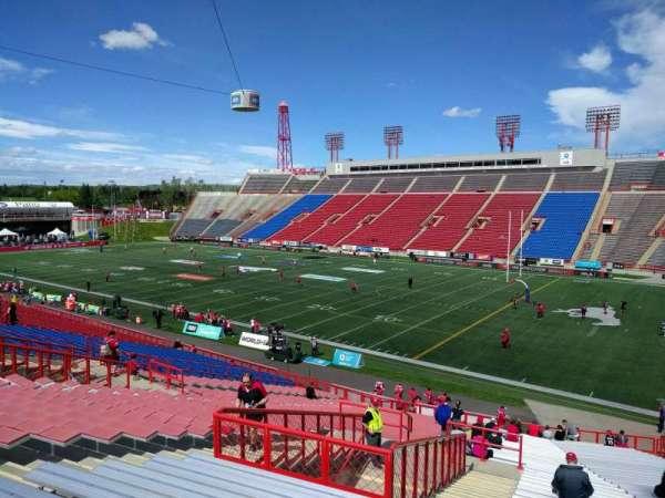 McMahon Stadium, section: a, row: 41, seat: 10