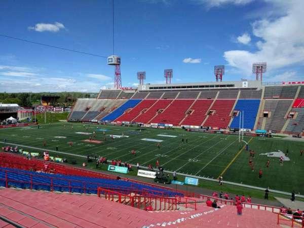 McMahon Stadium, section: b, row: 49, seat: 22