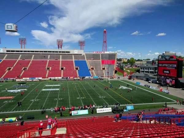 McMahon Stadium, section: f, row: 41, seat: 8