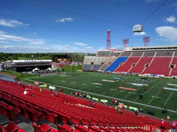 McMahon Stadium, section: d, row: 41, seat: 8