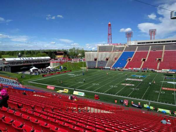 McMahon Stadium, section: f, row: 39, seat: 19