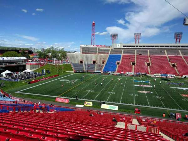 McMahon Stadium, section: h, row: 41, seat: 5