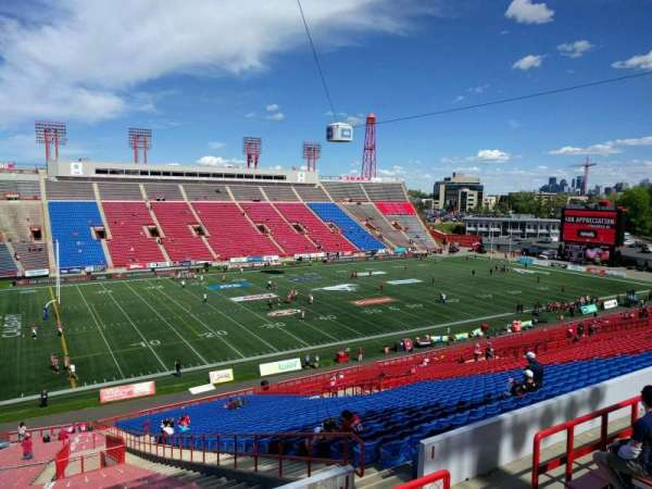 McMahon Stadium, section: j, row: 58, seat: 9