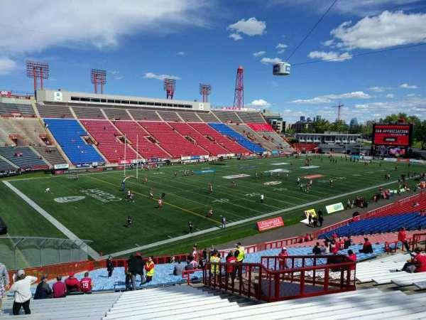 McMahon Stadium, section: l, row: 43, seat: 15