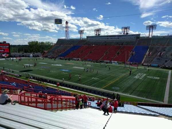 McMahon Stadium, section: N, row: 43, seat: 19