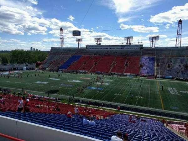 McMahon Stadium, section: p, row: 47, seat: 21