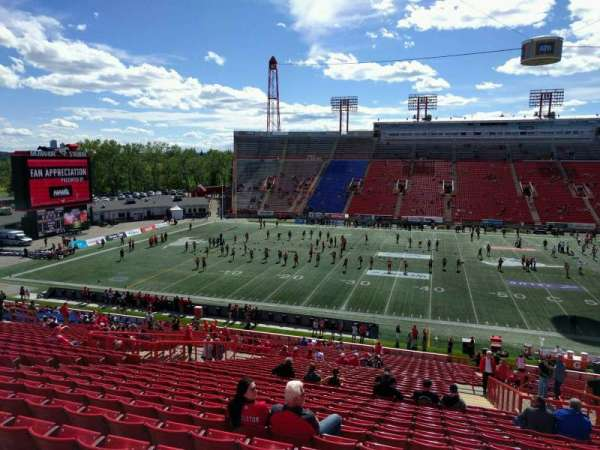 McMahon Stadium, section: t, row: 41, seat: 10