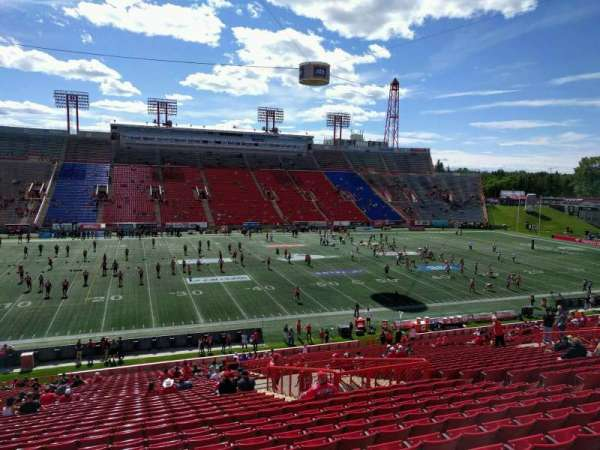 McMahon Stadium, section: u, row: 38, seat: 15