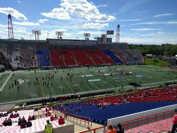 McMahon Stadium, section: w, row: 63, seat: 10