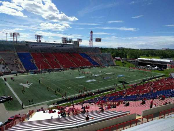 McMahon Stadium, section: x, row: 67, seat: 29