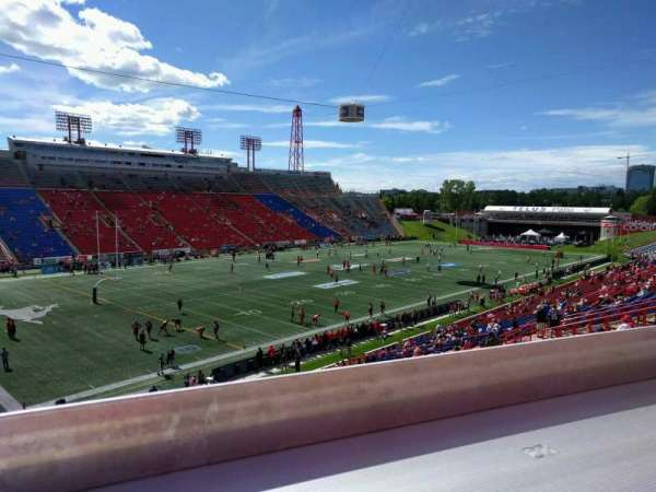 McMahon Stadium, section: x, row: 44, seat: 29
