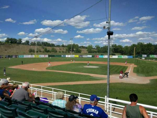 Athletic Park (Medicine Hat), section: b, row: f, seat: ga