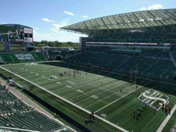 Mosaic Stadium, section: 531, row: 3, seat: 6