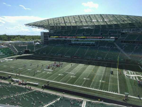 Mosaic Stadium, section: 535, row: 9, seat: 13