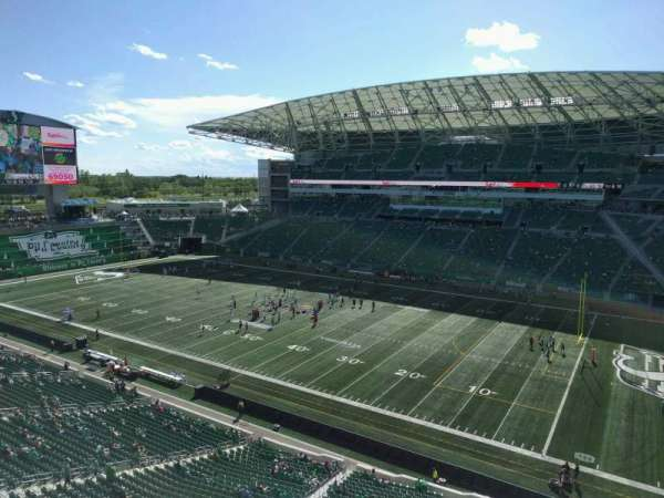 Mosaic Stadium, section: 534, row: 7, seat: 6