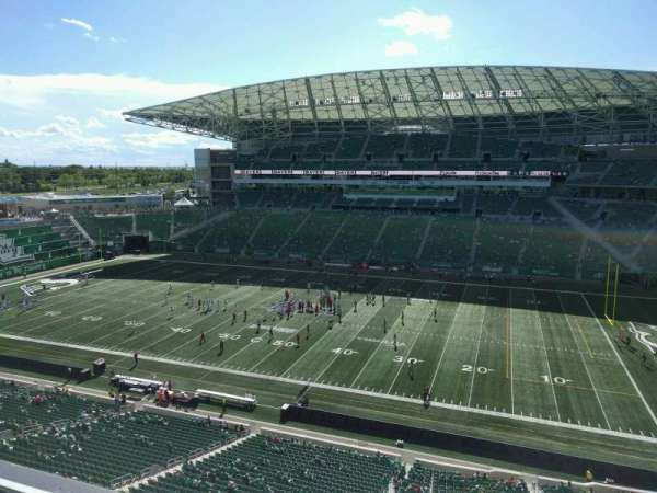 Mosaic Stadium, section: 536, row: 9, seat: 7
