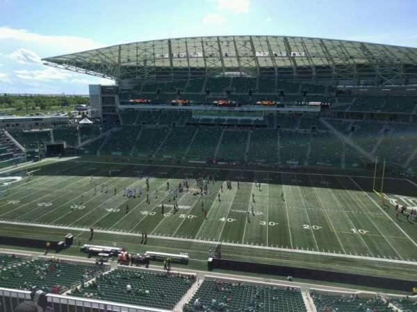 Mosaic Stadium, section: 537, row: 10, seat: 10