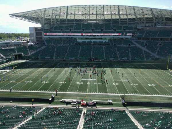 Mosaic Stadium, section: 538, row: 1, seat: 16
