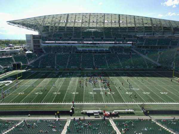 Mosaic Stadium, section: 539, row: 9, seat: 15