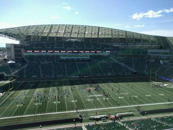 Mosaic Stadium, section: 540, row: 12, seat: 18