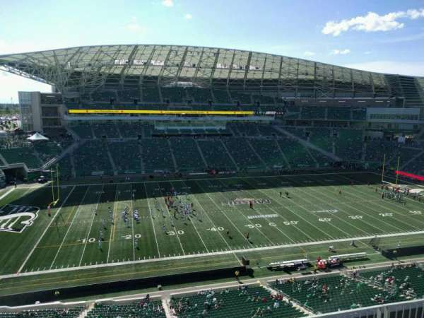 Mosaic Stadium, section: 541, row: 10, seat: 8