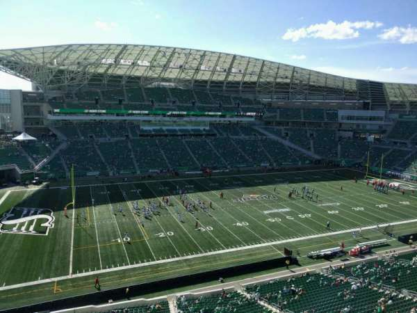 Mosaic Stadium, section: 542, row: 9, seat: 17