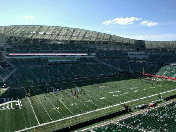 Mosaic Stadium, section: 543, row: 1, seat: 8