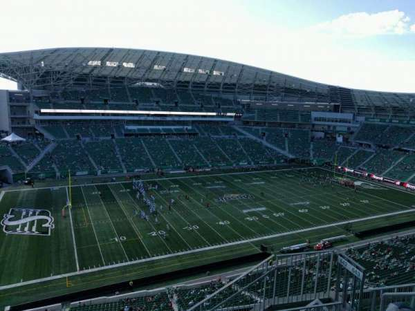 Mosaic Stadium, section: 643, row: 17, seat: 5