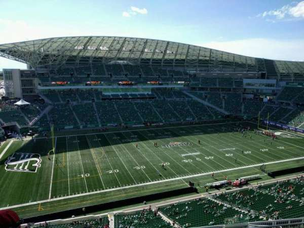 Mosaic Stadium, section: 642, row: 16, seat: 16