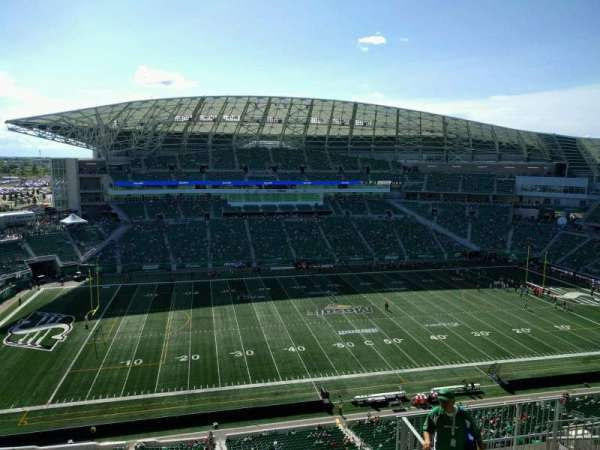 Mosaic Stadium, section: 641, row: 19, seat: 8