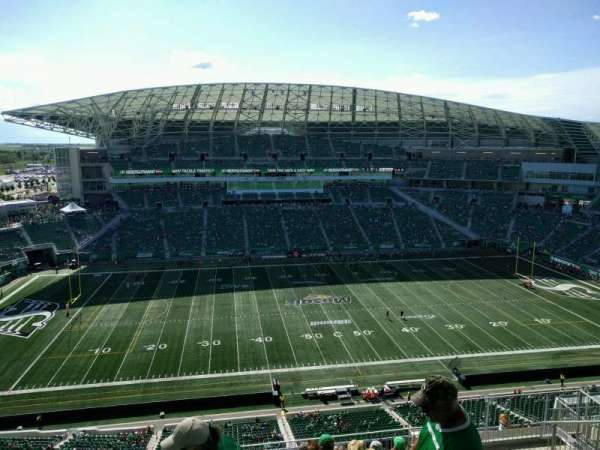 Mosaic Stadium, section: 640, row: 21, seat: 8