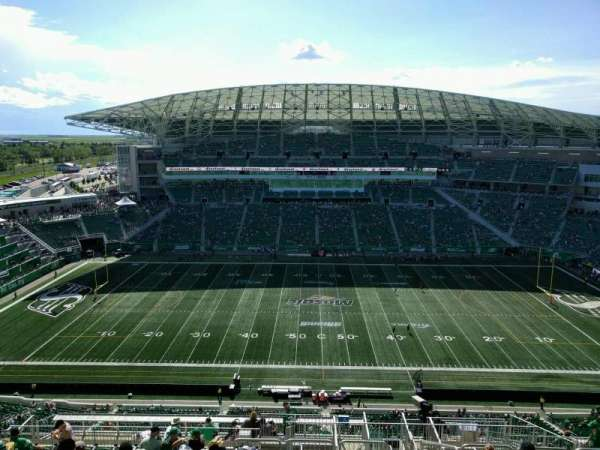 Mosaic Stadium, section: 639, row: 26, seat: 3