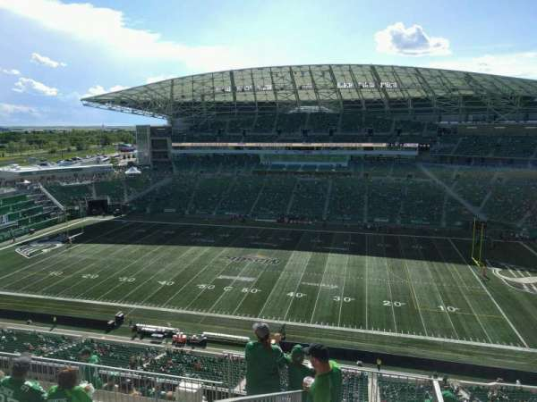 Mosaic Stadium, section: 636, row: 18, seat: 20