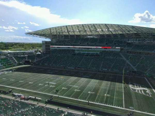 Mosaic Stadium, section: 635, row: 13, seat: 3