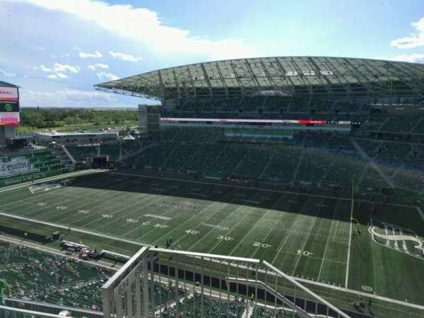 Mosaic Stadium, section: 635, row: 15, seat: 17