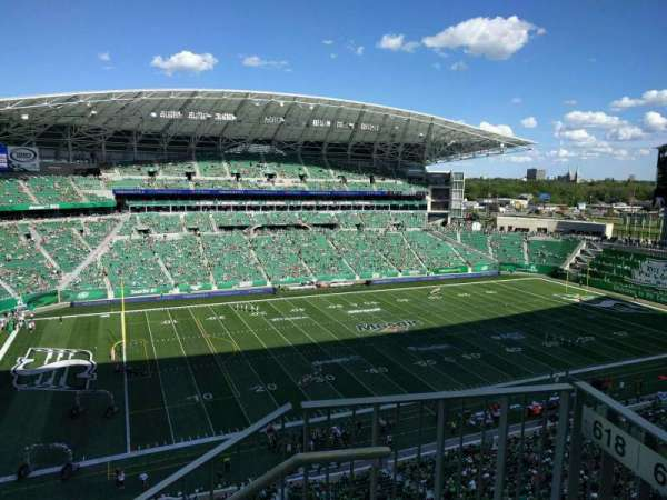 Mosaic Stadium, section: 616, row: 14, seat: 1