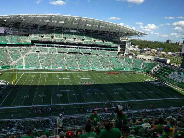 Mosaic Stadium, section: 616, row: 23, seat: 4