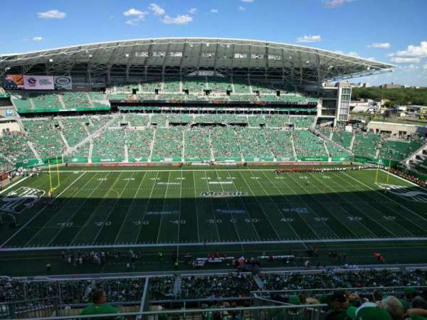 Mosaic Stadium, section: 615, row: 20, seat: 22