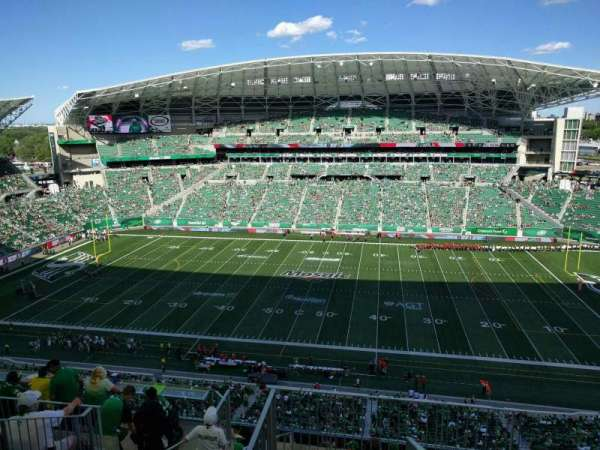 Mosaic Stadium, section: 613, row: 18, seat: 1
