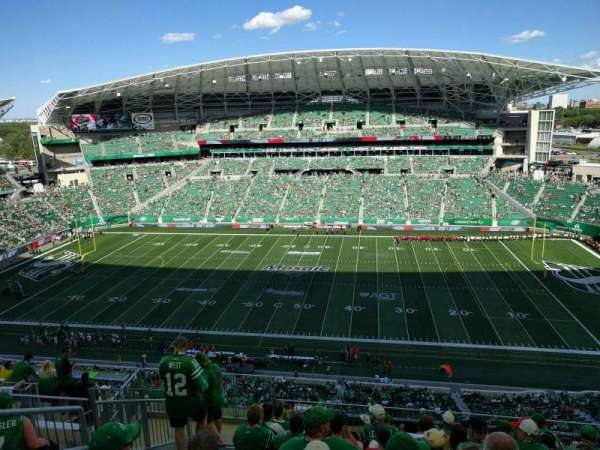 Mosaic Stadium, section: 613, row: 21, seat: 14